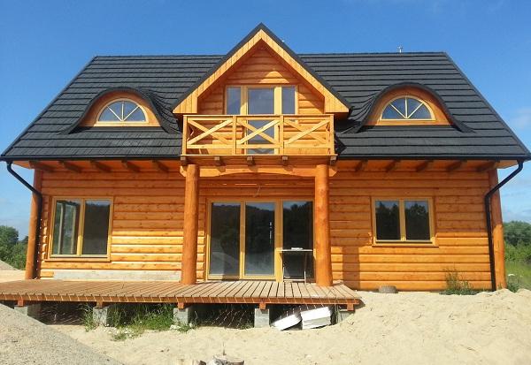 Nhà gỗ hiện đại cao cấp