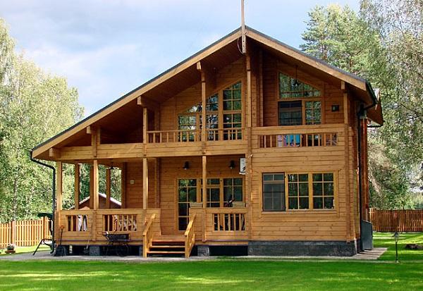 Thiết kế nhà gỗ hiện đại cao cấp - Mẫu nhà gỗ xoan
