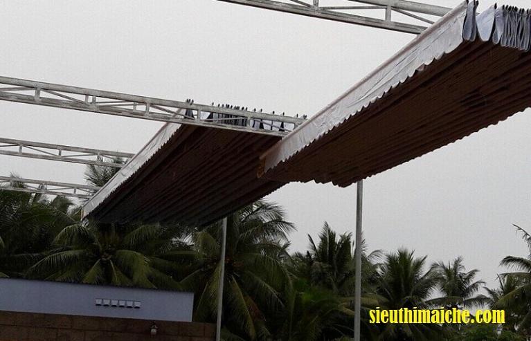 Làm mái che di động tại TPHCM