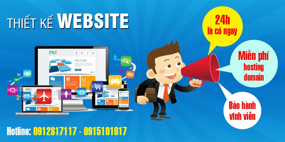 Thiết kế website nhanh 24h