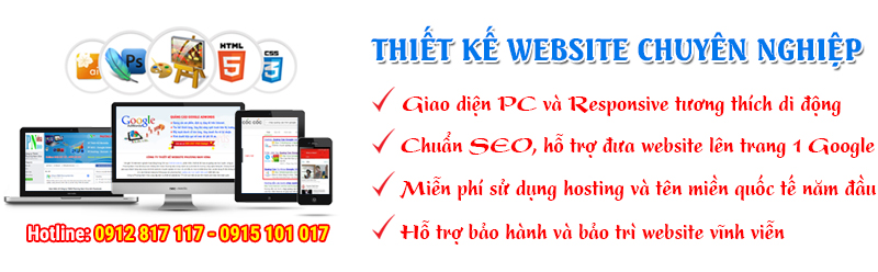 Thiết kế website ở TPHCM