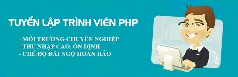 Tuyển lập trình viên PHP tại TPHCM