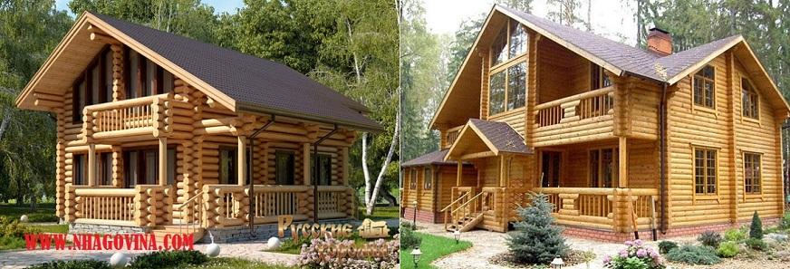 Nhà gỗ hiện đại