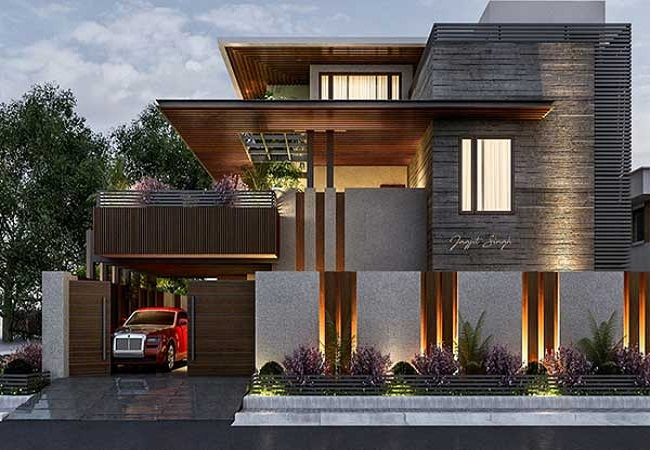 Những mẫu thiết kế biệt thự hiện đại