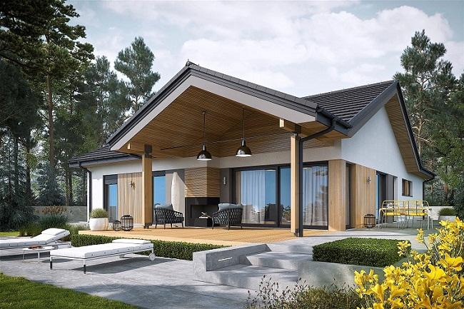 Thiết kế biệt thự đẹp chuyên nghiệp ở Huyện Bình Chánh