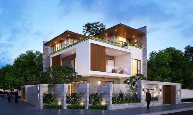 Thiết kế biệt thự đẹp hiện đại Huyện Nhà Bè