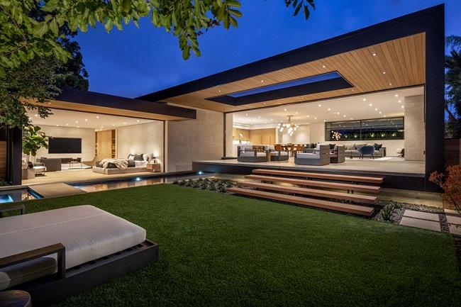 Thiết kế biệt thự đẹp hiện đại ở Quận Bình Tân giá rẻ