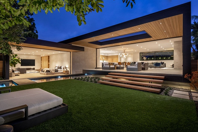 Thiết kế biệt thự đẹp hiện đại ở Huyện Bình Chánh giá rẻ