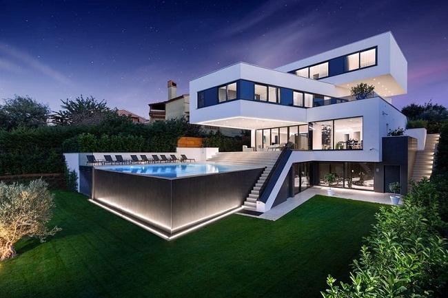 Thiết kế biệt thự đẹp hiện đại Quận Bình Tân chuyên nghiệp