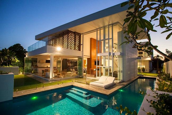 Thiết kế biệt thự đẹp hiện đại