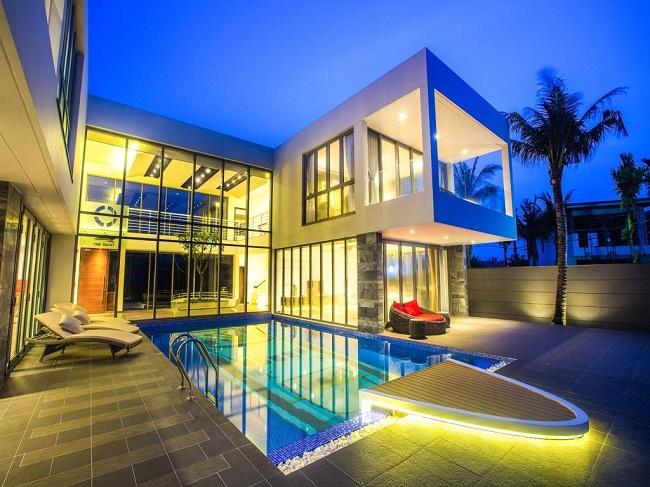Thiết kế biệt thự hiện đại đẹp Huyện Hóc Môn