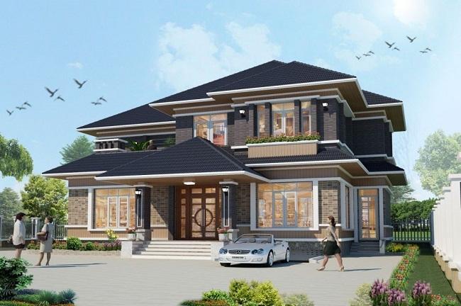 Thiết kế biệt thự Huyện Bình Chánh chuyên nghiệp