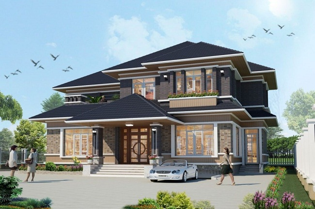 Thiết kế biệt thự Quận Gò Vấp chuyên nghiệp