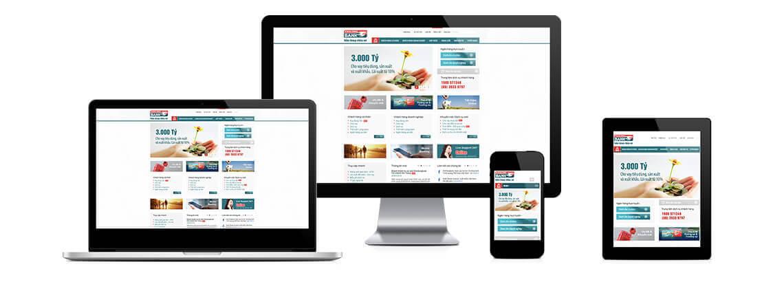 Thiết kế website uy tín, chuyên nghiệp, giá rẻ