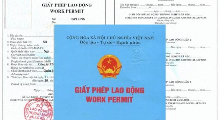 Xin giấy phép lao động