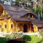 Mẫu nhà gỗ cấp 4 đẹp, hiện đại, đơn giản năm 2021