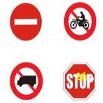 Biển báo giao thông hình tròn