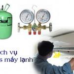 Dịch vụ bơm ga máy lạnh tại TPHCM