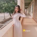 Bộ ảnh nữ sinh mặc áo dài đẹp