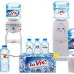 Thùng nước uống đóng chai giá rẻ