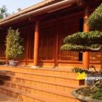 Mẫu nhà gỗ 5 gian đẹp nhất năm 2021