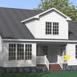 Nhà gỗ sồi trắng hiện đại