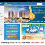 Trang web đăng tin quảng cáo rao vặt miễn phí - 24hQuangCao.Com